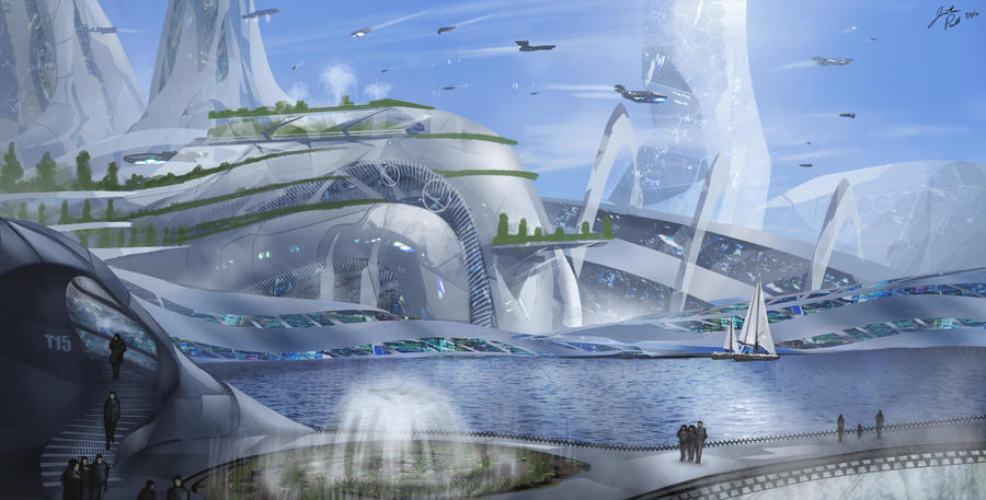 Eden Cityscape by JonathanP45