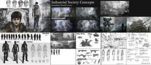 Industrial Society Concept Art