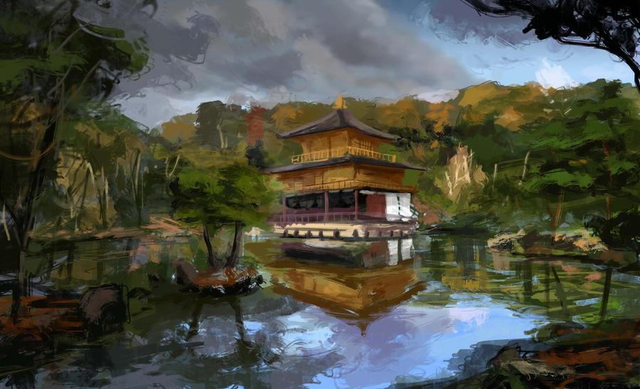 Japanese Landscape by JonathanP45 on DeviantArt