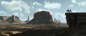 The Lone Ranger Study by ArtofJonathanPowell