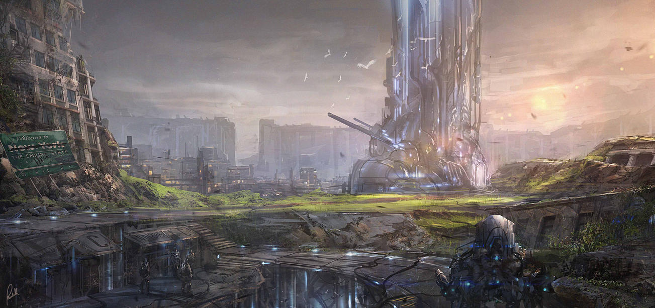Mech World Environment by JonathanP45