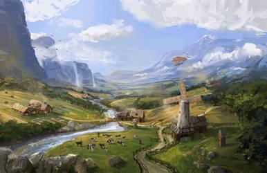 Fantasy Countryside