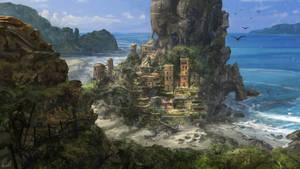 Beach city concept