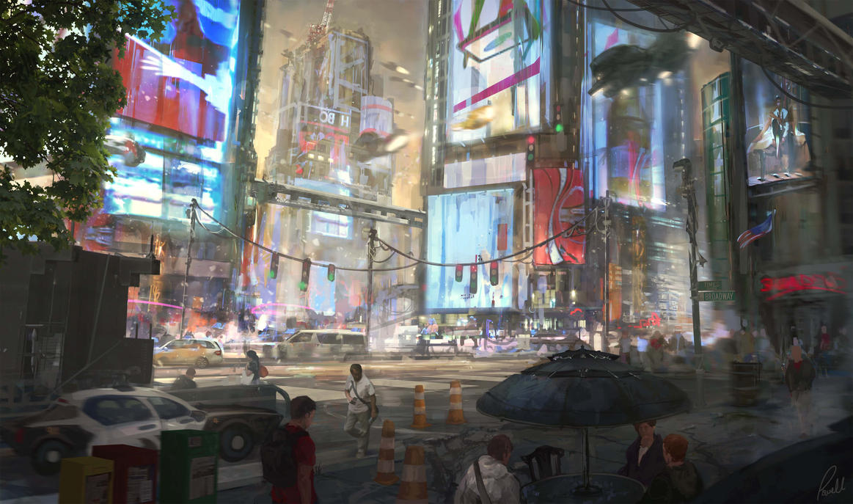 Times Square by JonathanP45