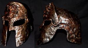 Greek Helmet by El-Sharra