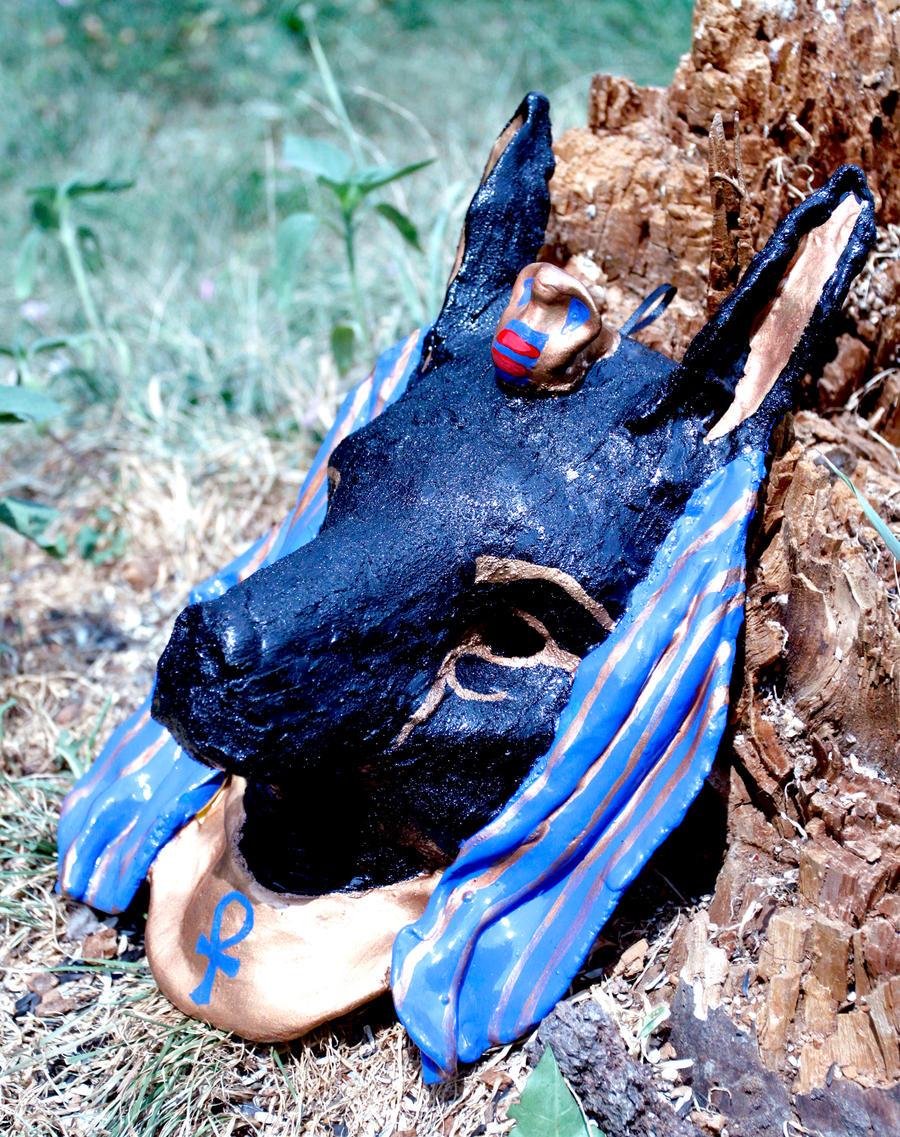 Anubis Mask by El-Sharra