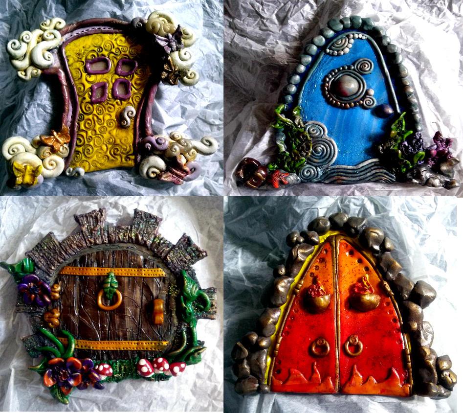 Elemental Doors by El-Sharra