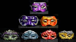 Elemental Mask Collection by El-Sharra