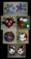 Yule Tree Ornaments by El-Sharra