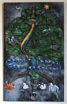 Yggdrasil - The World Tree by El-Sharra