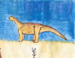 A wandering sauropod by ijreid