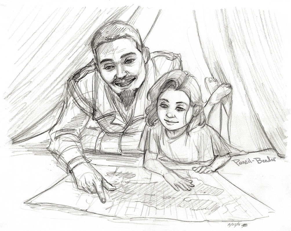Father Daughter Time By Pencil-Bender On Deviantart-5080