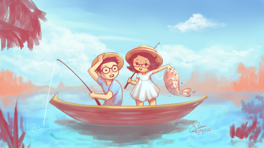 Gone Fishing by OSH-red