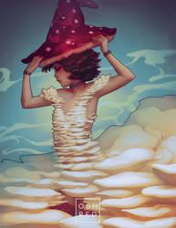 Mushroom Witch by oshRED