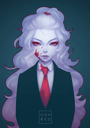 Chantilly: Suit by oshRED