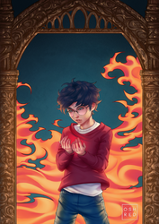 Harry Potter and The Philosopher's Stone by oshRED
