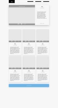 Blog Design (definitely not finished)
