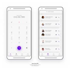 Phone (Keypad / Contacts)