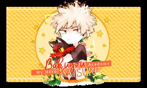Firma | Bakugou Katsuki