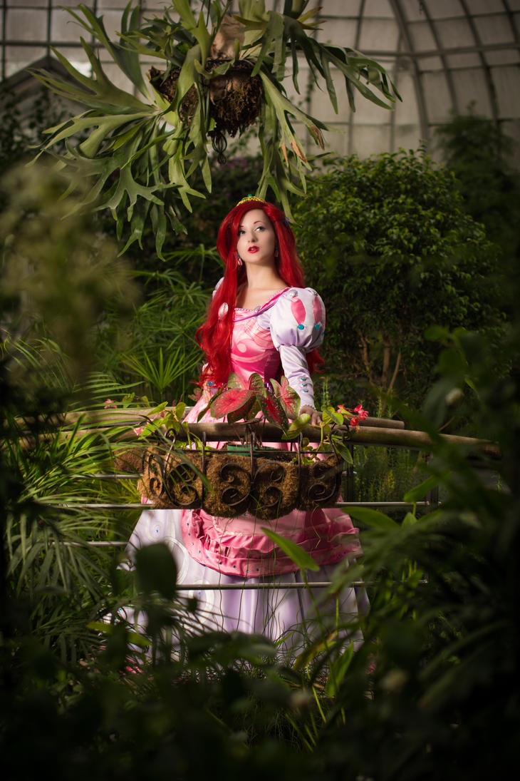 Ariel - The Little Mermaid - A part of your world by LadyRoseTea