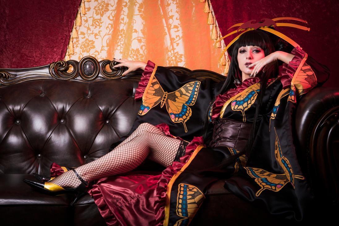 Ichihara Yuuko - xxxHolic - The Dimension Witch by LadyPinKuCosplay