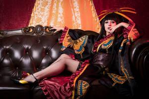 Ichihara Yuuko - xxxHolic - The Dimension Witch by LadyRoseTea