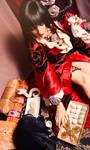 Ichihara Yuuko - xxxHolic - Mochi Time! by LadyRoseTea