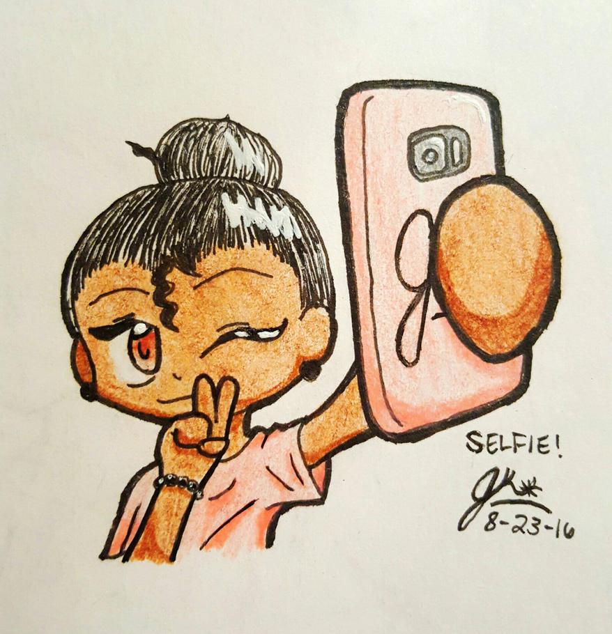 Selfie!  by Tomboy929