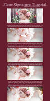 Fleur Signature Tutorial by yeongu