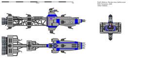Hecate-class battlecruiser EAS Temeraire