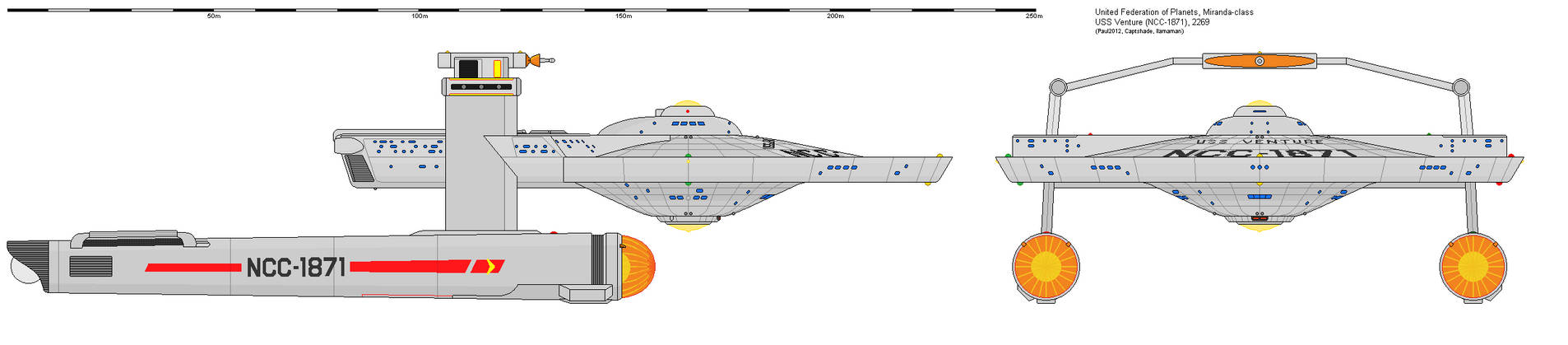 Miranda-class USS Venture, NCC-1871