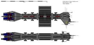 EAS Perseus - Nova-X battlecruiser