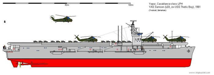 YAS Samson (L03) - Casablanca-class