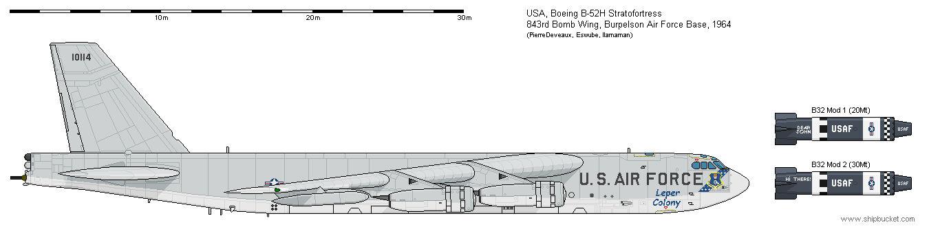 Boeing B-52H ''Leper Colony'' (Dr Strangelove)