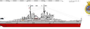 HMS Vanguard (B23) - 1966 AU