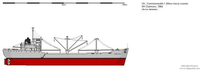 Moor-class coaster MV Dartmoor