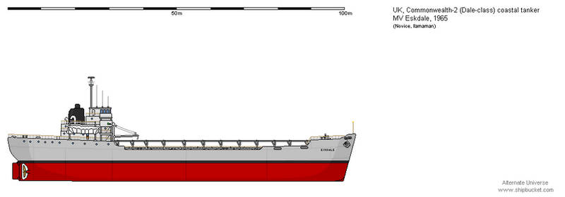 Dale-class coastal tanker MV Eskdale