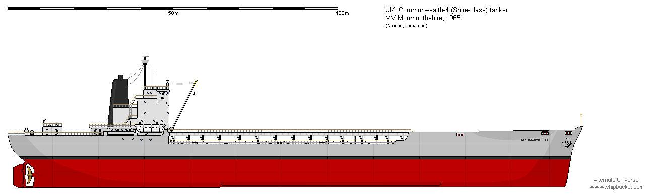 Shire-class tanker MV Monmouthshire