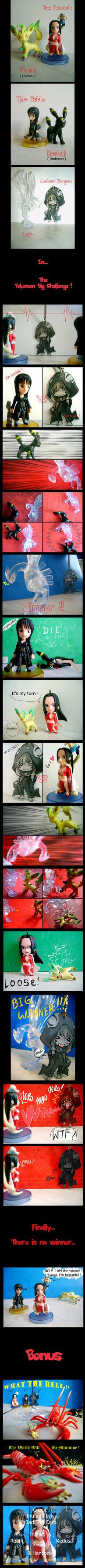 The Pokemon Big Challenge by inu-steakcy