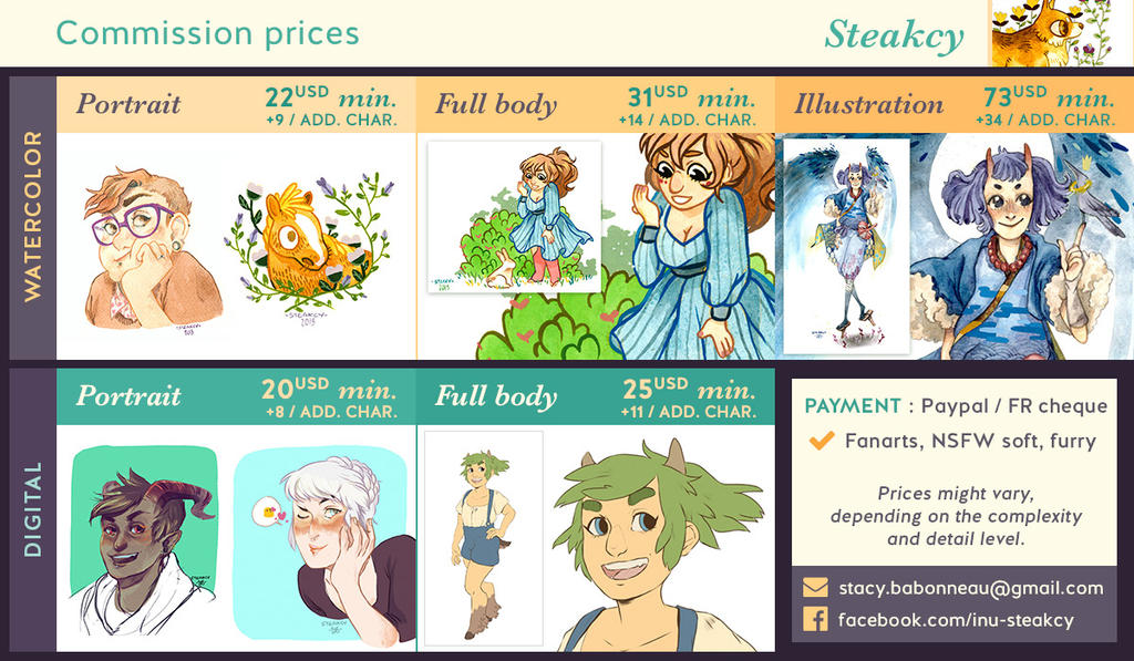 Commission Prices by inu-steakcy