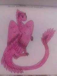 Angel (bird of paradise plumage dragon)