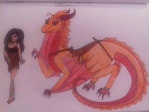 Dragra(dragon) and Natalina