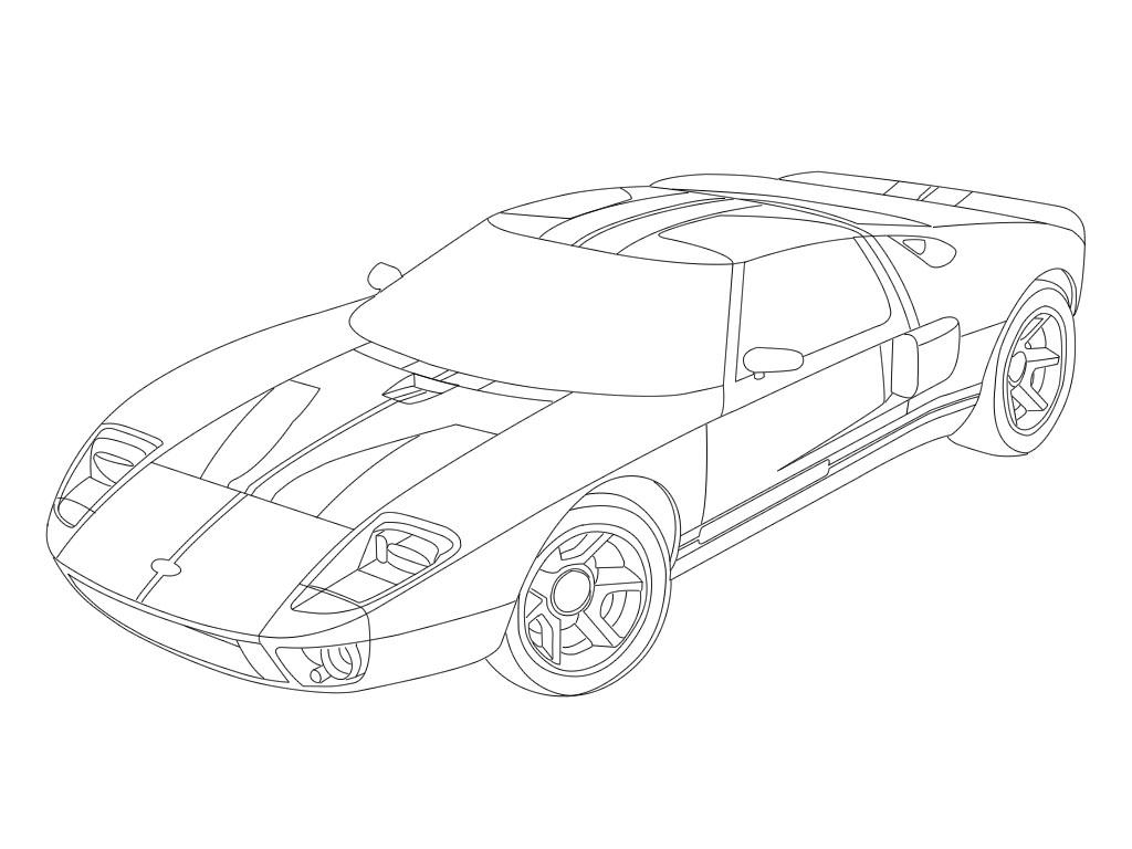 Ford Gt By Thestrikr