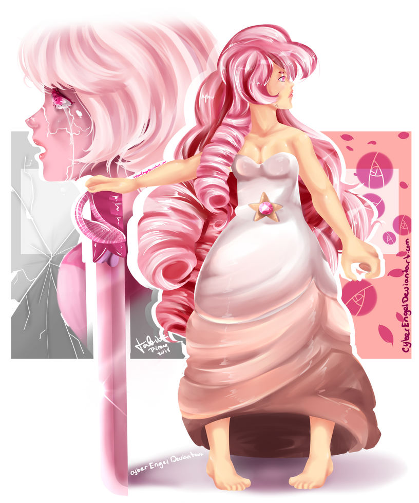 Oooooooooooofffff i'm in love with my new art style it's my first time drawing without lines xD it's hard Like painting in real papper lol Hope you like it my specimen for this style was Rose Quart...