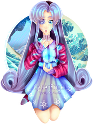 Water Pledge | Oc | Izumi Amaya by CyberEngel