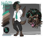 Anxiety the Spotted Hyena Ref Sheet