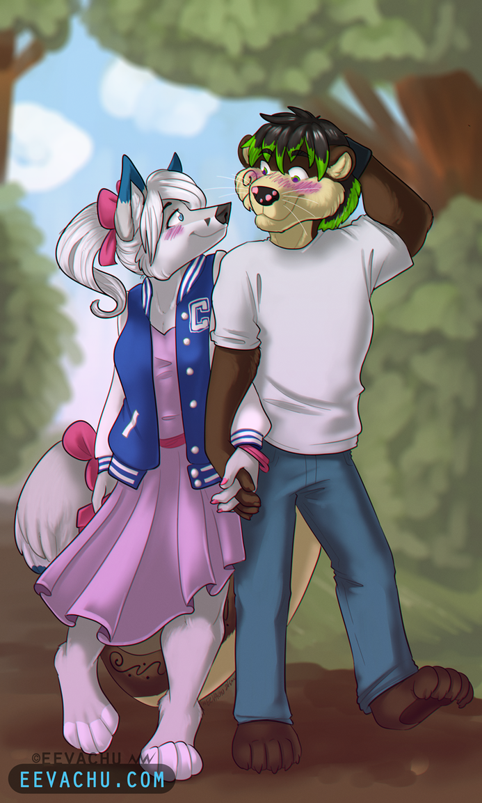 Walk in the Park by Eevachu
