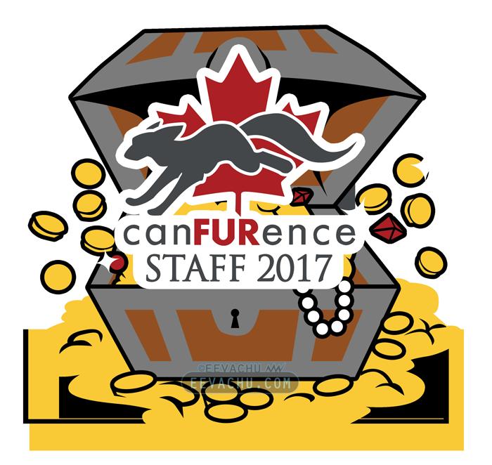 CanFURence 2017 Bandanna by Eevachu