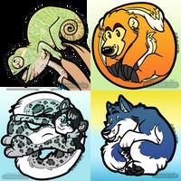 Lil' Circle Icons Batch 2 by Eevachu