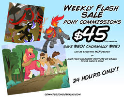 Weekly Flash Sale #1 (24 Hours ONLY!) by Eevachu